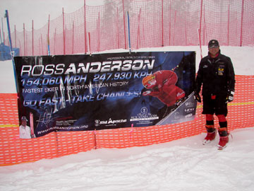 Ross Anderson in Canada