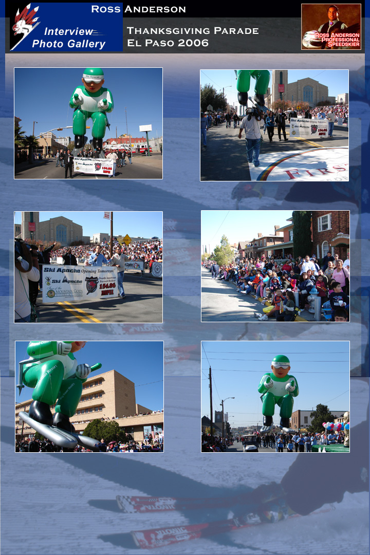 Ross Anderson at the El Paso Thanksgiving Parade 2006