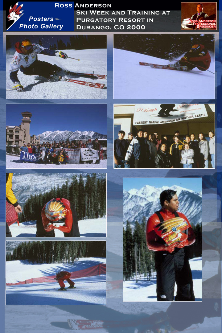 Ross Anderson Ski Week and Training at Purgatory Resort in Durango, CO 2000
