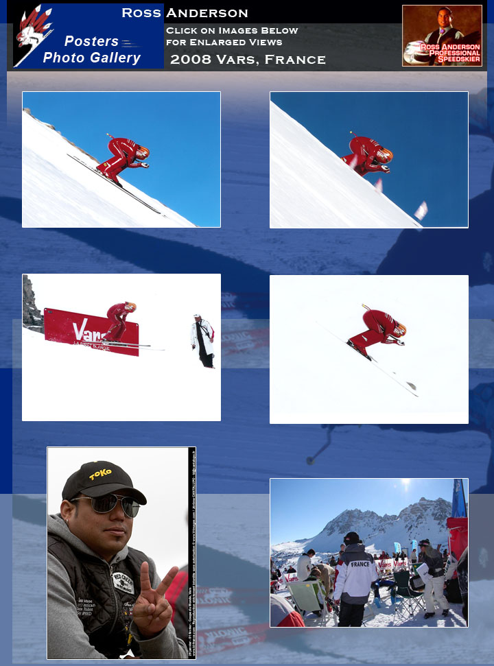 Ross Anderson in Vars, France 2008