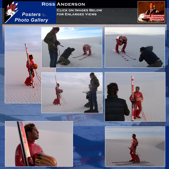 Ross Anderson Speed Skier Posters
