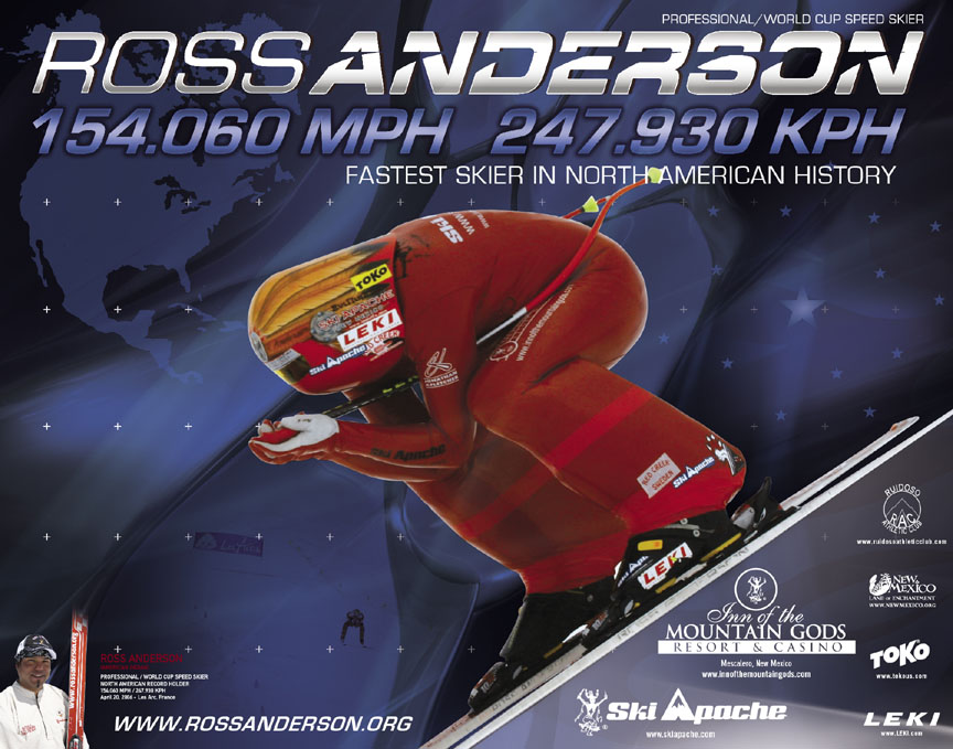 Ross Anderson Speed Skier
